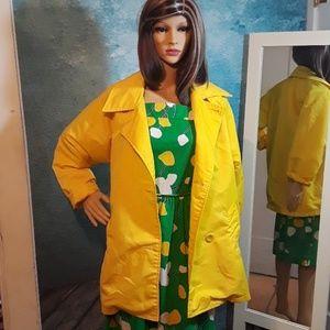 Vintage 1980s RARE Guess raincoat size Medium